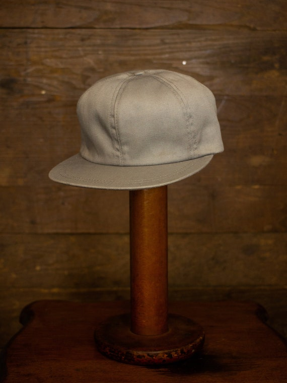 Gray Baseball Cap | Vintage Ball Cap | Handmade Ba