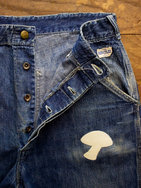 50s Hercules Denim Shorts | 70s Shorts | Vintage … - image 7
