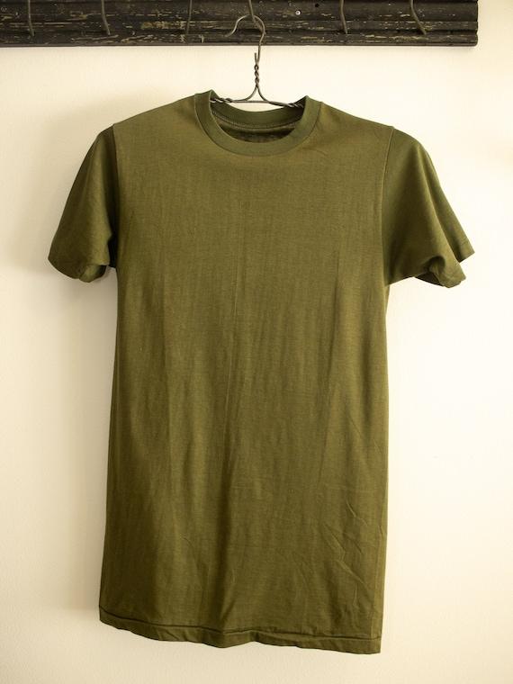 60s Tshirt | Vintage Military Tshirt | Vintage Dea