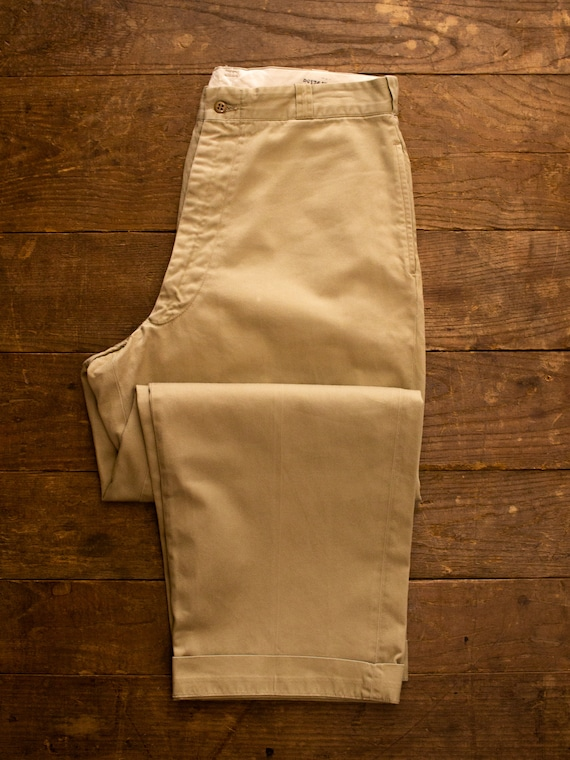 Vintage Military Chino | 50s Mens Pants | Cotton … - image 4