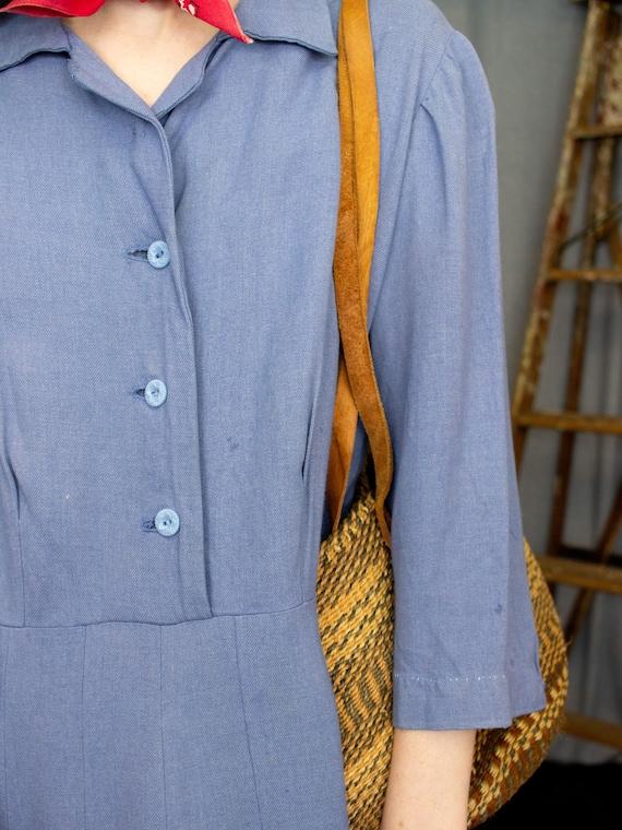 Farm Dress | 30s 40s Dress | Antique Chore Dress … - image 9