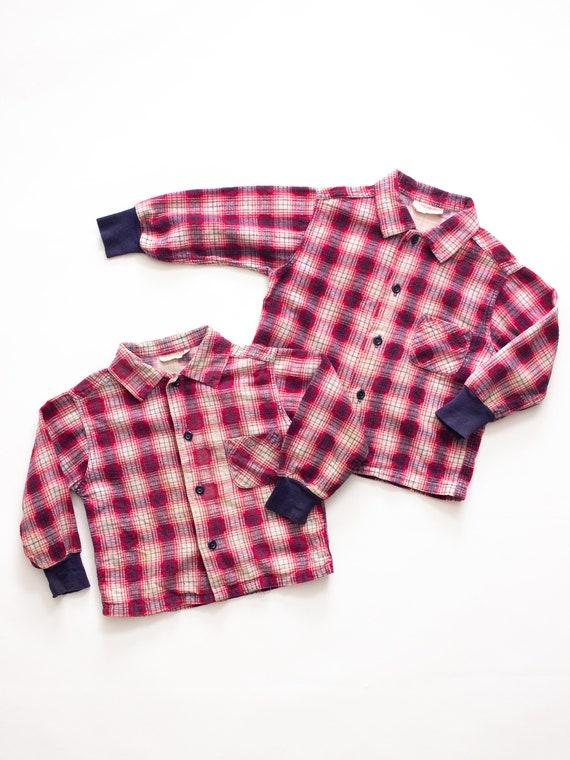 Health Tex Baby Flannel Shirt | Vintage Flannel |… - image 1