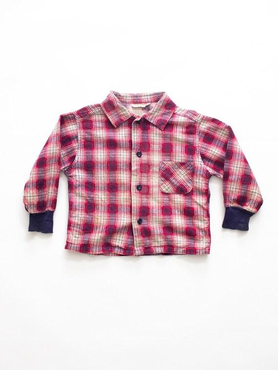 Health Tex Baby Flannel Shirt | Vintage Flannel |… - image 2