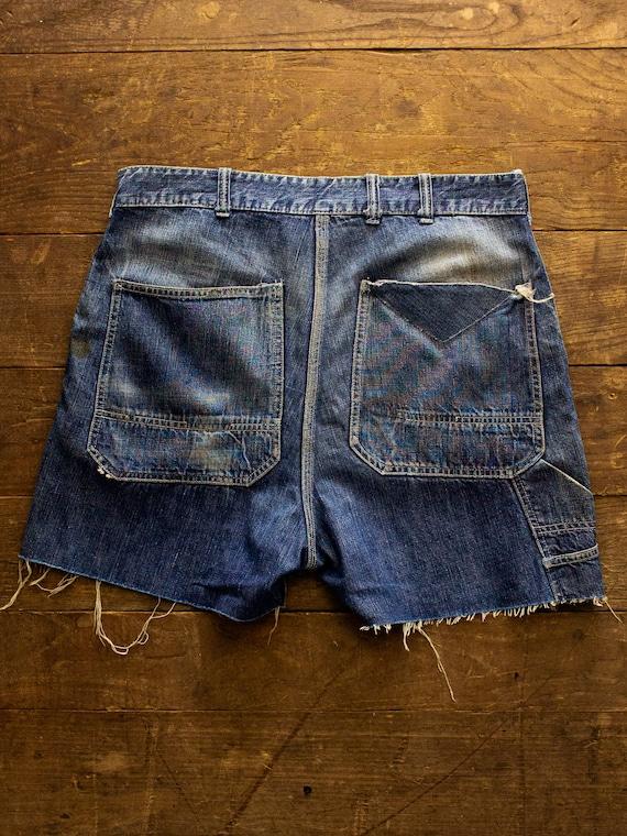 50s Hercules Denim Shorts | 70s Shorts | Vintage … - image 4