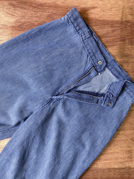 bell bottoms | vintage flare jeans | 70s bell bot… - image 7