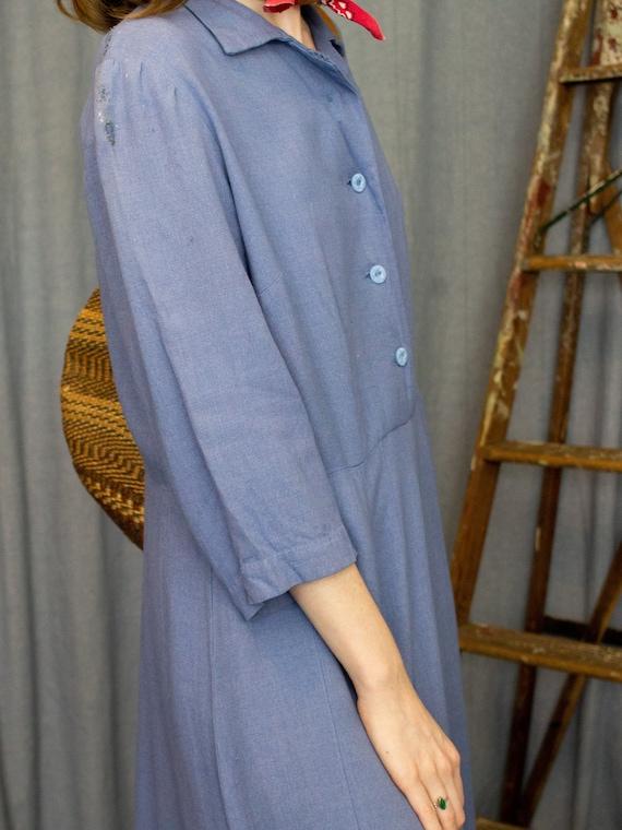 Farm Dress | 30s 40s Dress | Antique Chore Dress … - image 8