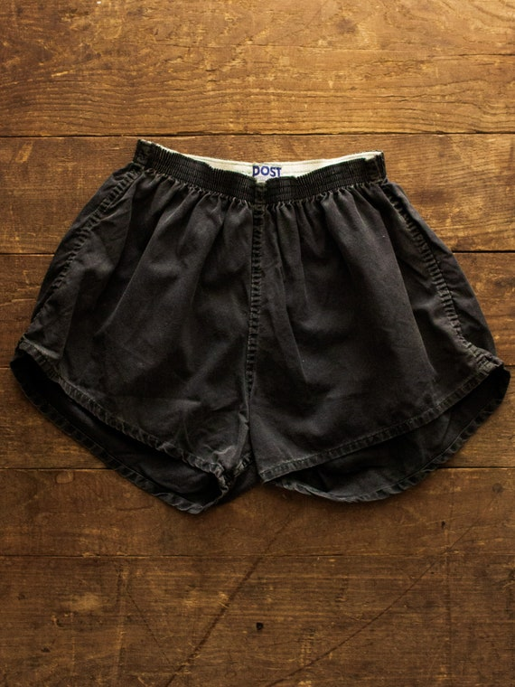 Cotton Gym Shorts | 50s 60s Shorts | Post Vintage