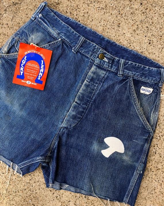 50s Hercules Denim Shorts | 70s Shorts | Vintage … - image 2