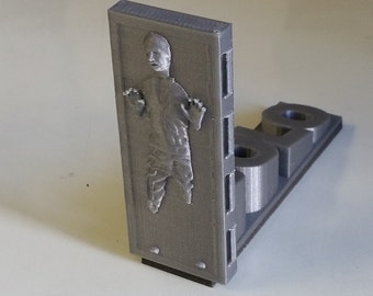 Solo Carbonite Doorstop - Hold The Door 3D Printed Star Wars Doorstop Door Stopper