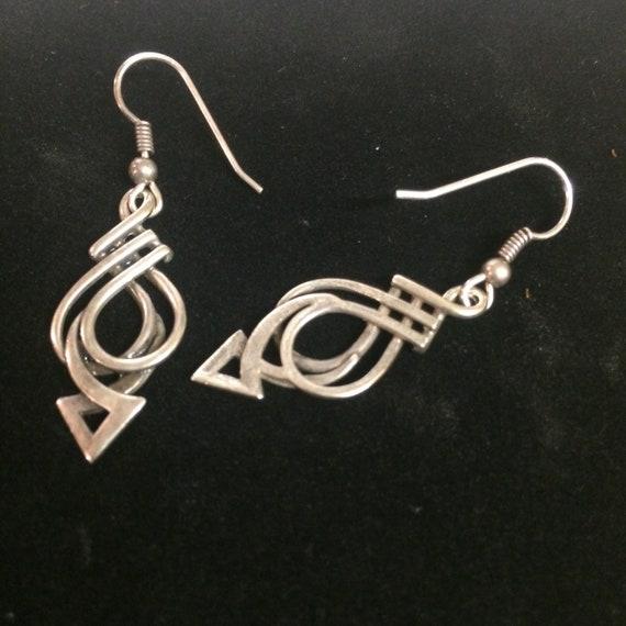 Ola Gorie Silver Pure Stud Earrings Scottish