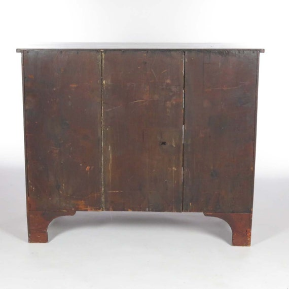 finest selection d1637 c807f Antique chest of drawers mahogany dresser wood 19th c