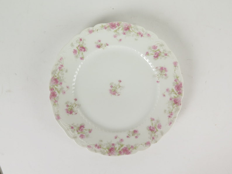 Haviland Limoges France pink asters luncheon plate 8 5 | Etsy