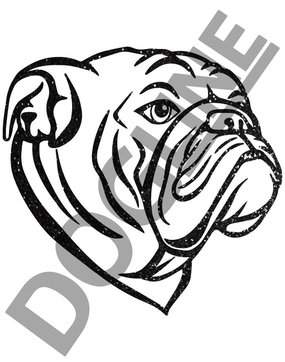 English Bulldog Dogline Unisex Dog Lovers Graphic Tee
