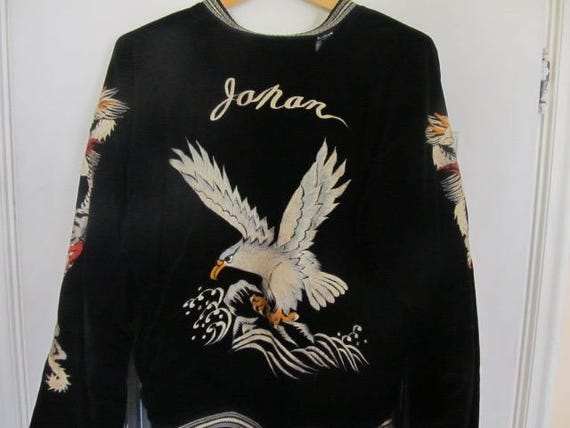 1950s Souvenir Jacket /  Sukajan Japan