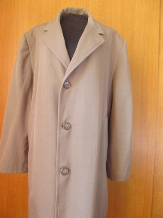 Trench coat in gabardine 1950