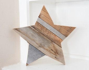 Rustic Home Decor, Farmhouse Decor, Wood Star, Wall Decor, Room Decor, Reclaimed Wood, Woodland Nursery, Kitchen Decor, Country Home Decor