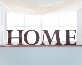 Rustic Home Decor, Housewarming Gift, New Home, Home Sign, Farmhouse Decor,