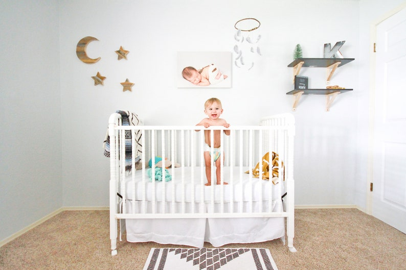 Wall stars for Baby Nursery Wall Newborn Infant Room Decor image 0
