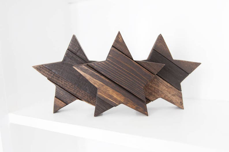 Rustic Home Decor Farmhouse Decor Wood Star Country Home image 0