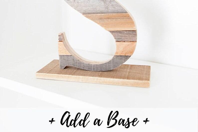 Base Only Freestanding Letter Stand Alone Letter Letter image 0