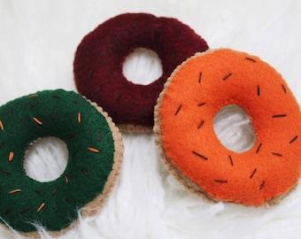 Fall Felt Donuts || Pretend Play