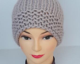 Knit octobeard hat