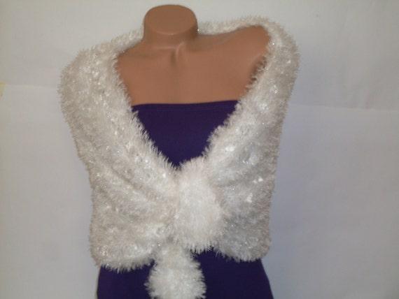 Hochzeit Cape weißen Schal Braut Jacke weiße Bolero-Jacke   Etsy