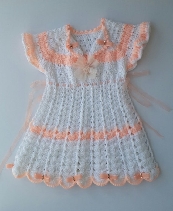 Baby Baby Häkeln Kleid Mädchenkleid Häkeln Outfit Etsy