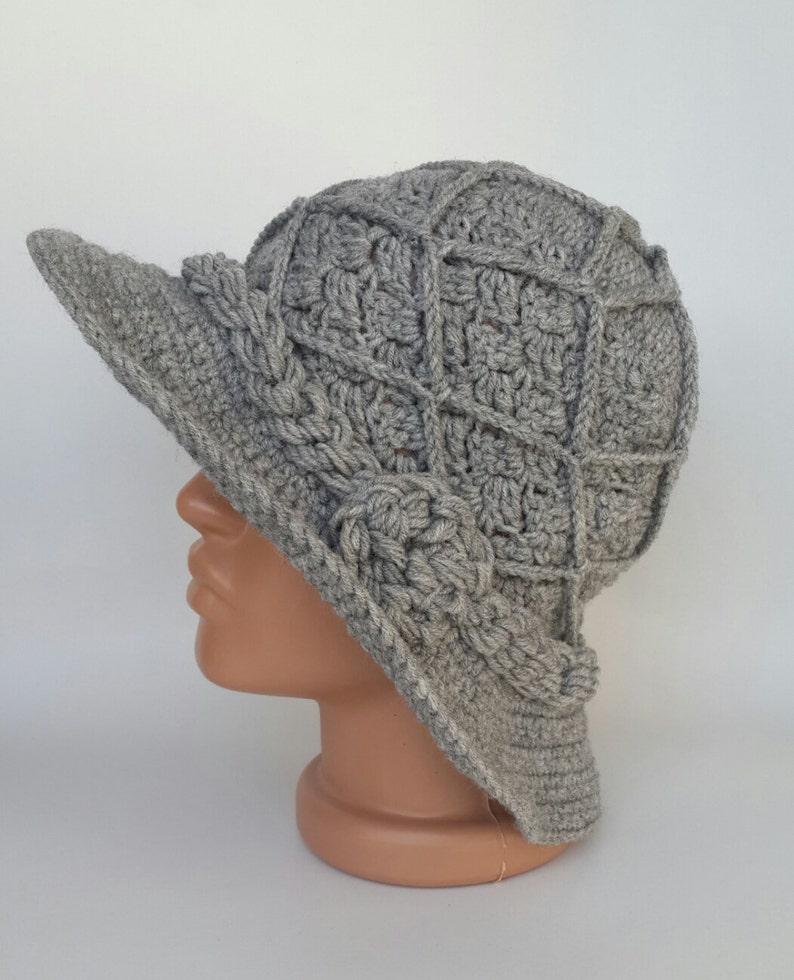 Cappello Cappello Di Lana Uncinetto Cappello Berretto Etsy