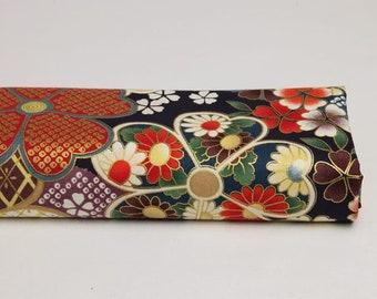 Flower multi patterns - kimono, Japanese Kimono fabric Japanese kimono fabric Japanese fabric