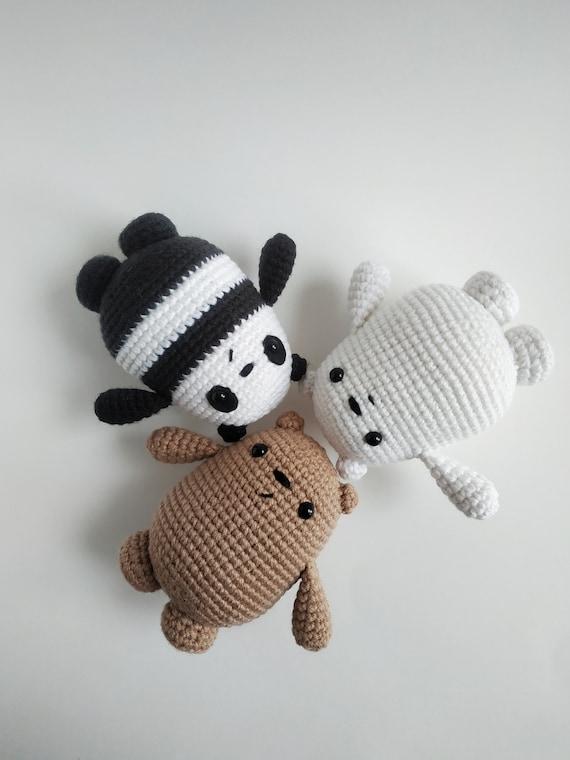 Amigurumi bear in pullover pattern | Crochet bear patterns ... | 760x570