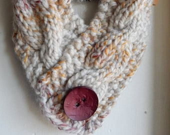 Children's Cowl Knit Scarf