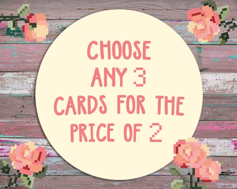 Vacation Cards and Mothers Day Cards Includes: Love Cards Birthday Cards Congratulation Cards Buy 2 Get 3 Cards Get 1 For Free