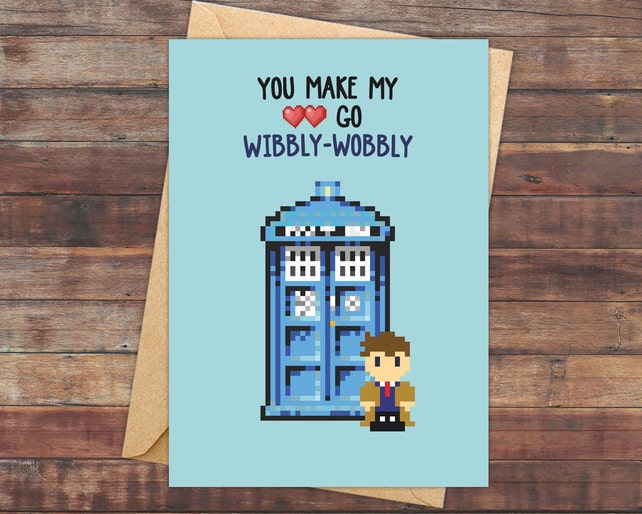 valentine s day cards doctor who dr who doctor who etsy