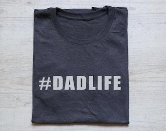 fdffa8eda Dadlife tee t-shirt shirt adult unisex t-shirt men's t-shirt boho father  daddy's shirt gift for him father's day gift dad tee