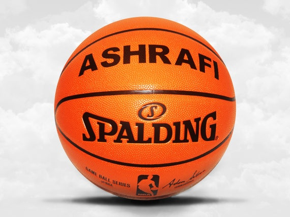 Customized Personalized Basketball Spalding Replica Indoor/Outdoor Official Size Gift
