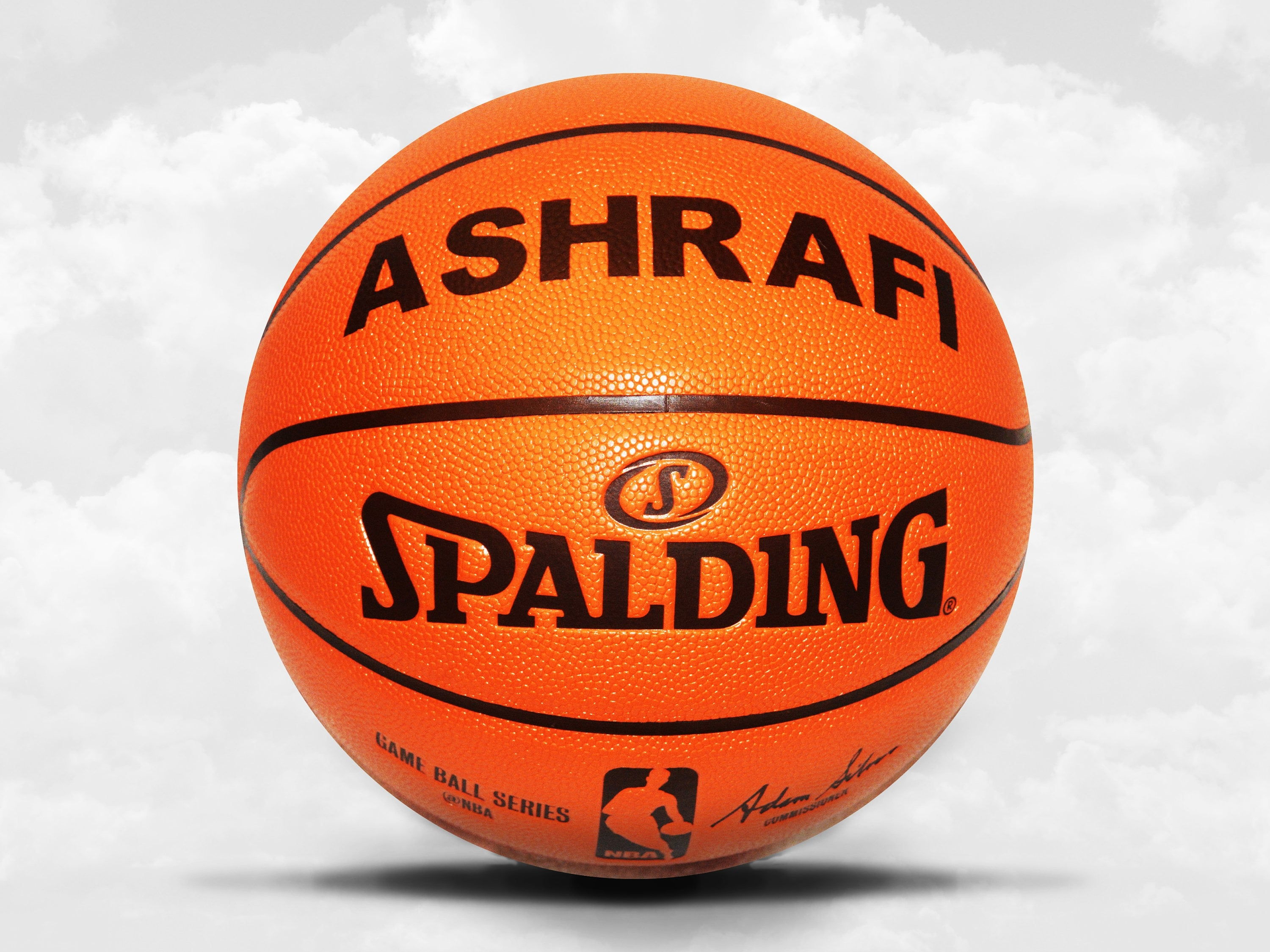 89dbbd026b5 Customized Personalized Basketball Spalding Replica Indoor/Outdoor ...