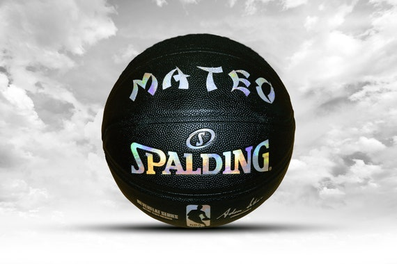 Customized Personalized Basketball Spalding Neverflat Game Ball Replica Official Size 29.5