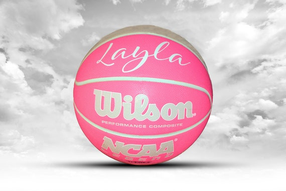Customized Personalized Wilson NCAA Legends Gray/Mint Indoor/Outdoor Basketball