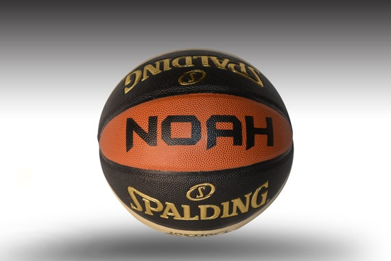 Customized Personalized Basketball Spalding Instinct Indoor/Outdoor Official Size Gift