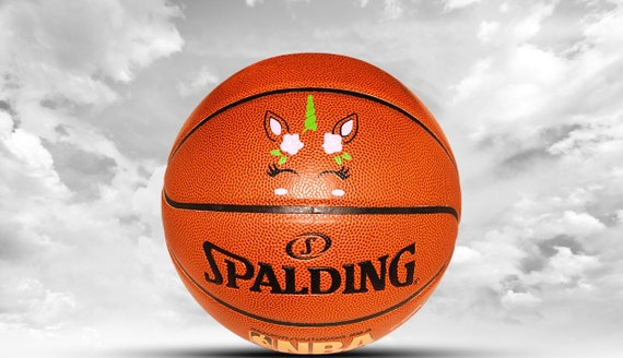 Customized Personalized Basketball Spalding Indoor/Outdoor with text and image Official Size Gift