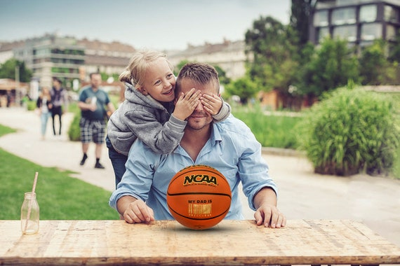 Customized Personalized Basketball Wilson NCAA Replica  Indoor/Outdoor Official Size Father's Day Gift