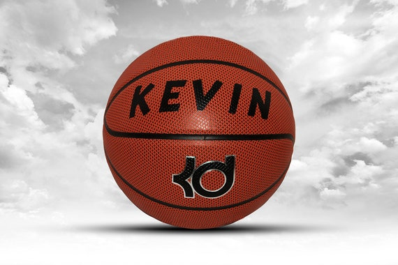 Customized Personalized Basketball Nike KD Kevin Durant Full Court Indoor/Outdoor Official Size 29.5 Gift