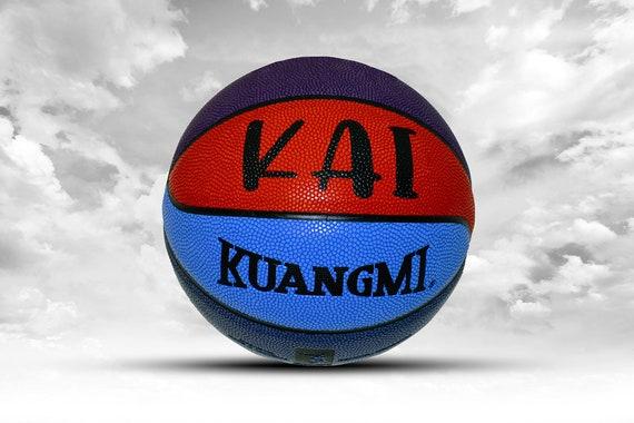 Customized Personalized Basketball Kuangmi Colorful Street Ball Mini, Youth