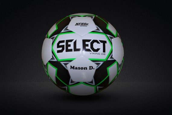 Customized Personalized Select Viking DB Soccer Ball