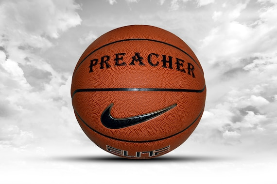 Customized Personalized Basketball Nike Elite Championship Indoor Official Gift