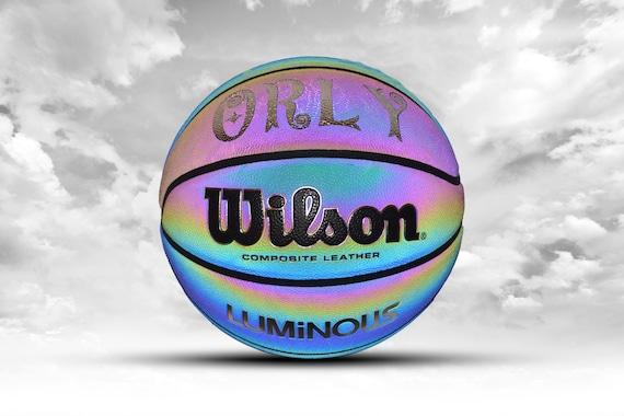 Customized Personalized Wilson Luminous Slick Trainer Indoor/Outdoor Basketball