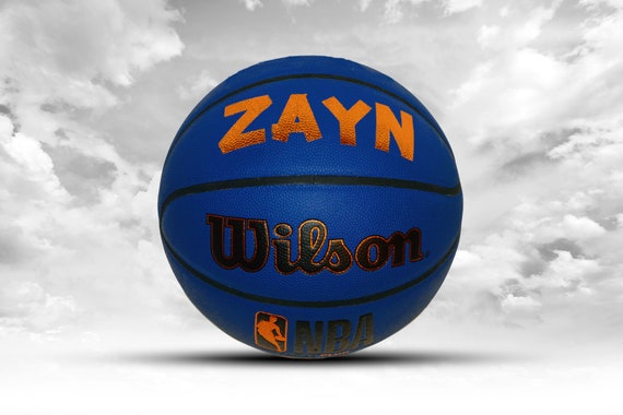Customized Personalized Wilson Forge Plus Indoor/Outdoor Basketball