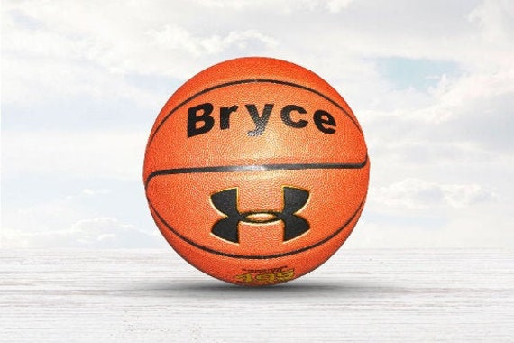 Customized Personalized Basketball Under Armour 495 Indoor/Outdoor Basketball Gift