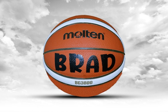 Customized Personalized Basketball Molten 3800 Indoor/Outdoor Official Size 29.5